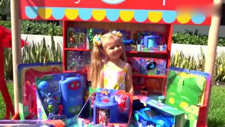 可爱萝莉:小可爱假装卖玩具哥哥好喜欢全部买下却没带钱结果如何?