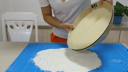 懒人面包做法,不揉面、不擀面,更不用揉出膜,蓬松宣软,超省力