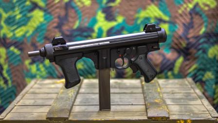 前后小握把,冲压钢材枪身,伯莱塔M12不愧最可靠的冲锋枪之一