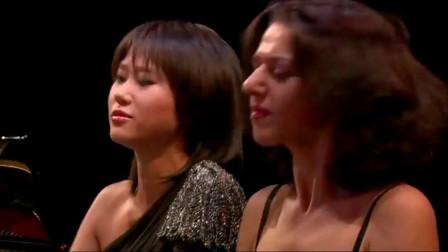 王羽佳-卡蒂娅四手联弹勃拉姆斯《匈牙利舞曲第五号》