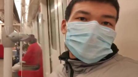 广州复工后,看看地铁7号线,和3号线,5号线的人流量怎么样