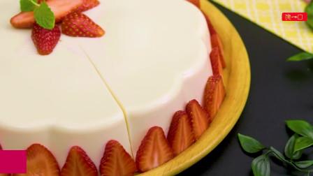 草莓蛋糕制作,Q弹的感觉