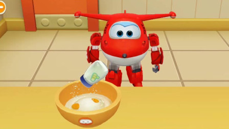 【妞妞】超级飞侠做生日蛋糕 儿童益智游戏