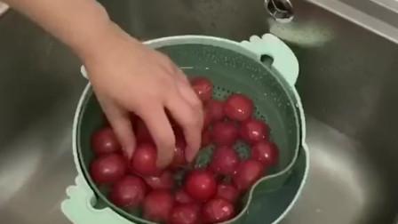 厨房好物来啦!反转沥水篮