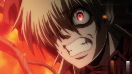 动画:吸血鬼大战神父,因为神父变成了恶魔,所以无法他?