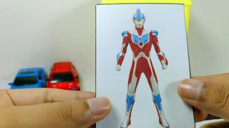 奥特曼玩具故事大全:银河奥特曼遇到变形汽车人,谁更厉害呢?