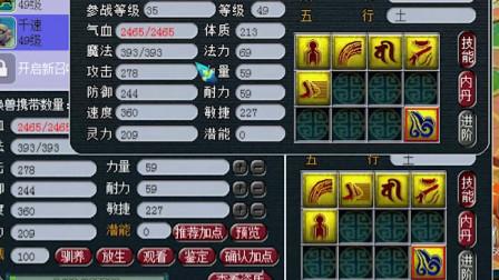 梦幻西游:39天猴组极限玩家装备展示,简易晶清是什么魔鬼