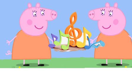 猪妈妈 猪妈妈排排站 我们一起把歌唱 太好听啦 佩奇游戏 发呆游戏