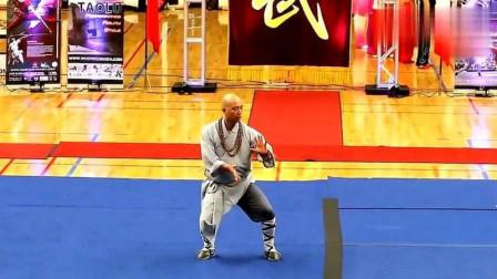 少林寺武僧表演少林武功,竟没人知道他的拳法,你看出来了吗?