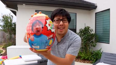 萌宝玩具:好期待!爸爸送给小正太的惊喜蛋里会有什么呢?