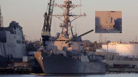 美军激光炮战舰再次曝光,多种型号正在测试,距离实用仅一步之遥