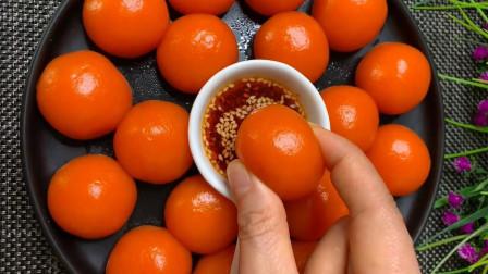胡萝卜还可以这样做,QQ弹弹超好吃