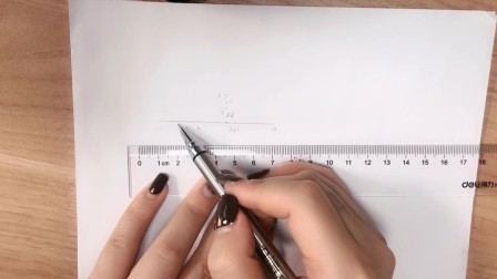 纸上高挑眉画法演示讲解,二姐美业纹绣纹眉视频教程