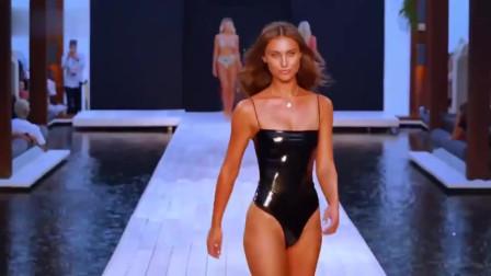 时装秀:欧美新品泳装秀,华丽又典雅,观众纷纷侧目!