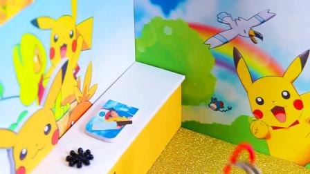 微世界DIY:迷你皮卡丘主题厨房和卧室