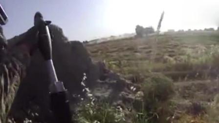 真实战场实拍:美军60毫米迫击炮威力小的可怜,实战使用影像曝光