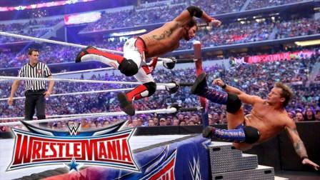 WWE传奇大师AJ斯泰尔斯的高光时刻