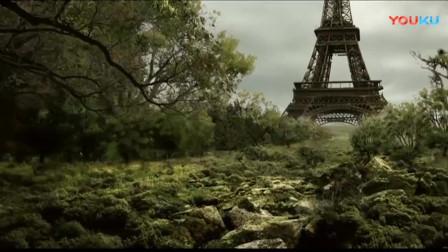 劫后余生:人类消失230年后,埃菲尔铁塔也顶不住了,最终还是倒塌了