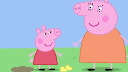 佩奇快乐的跳泥坑 小猪佩奇游戏 发呆游戏