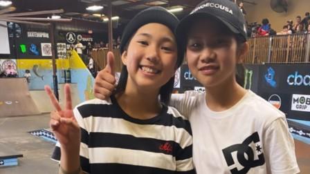 滑板运动的未来之星,日本年轻小滑手在佛罗里达滑板比赛中获得名次!