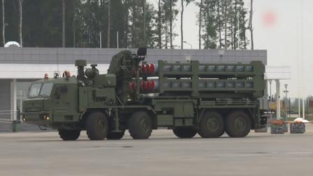 比S300更厉害,俄罗斯交付新型防空导弹,命名S350已实现一坑四弹
