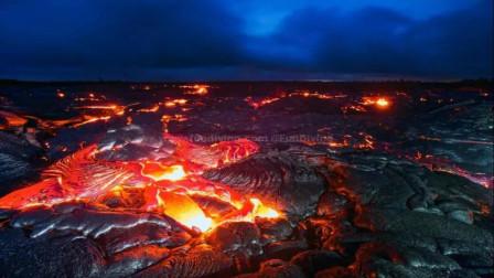 世界上最美的火山 连续喷发30余年已成为夏威夷最独特的风景