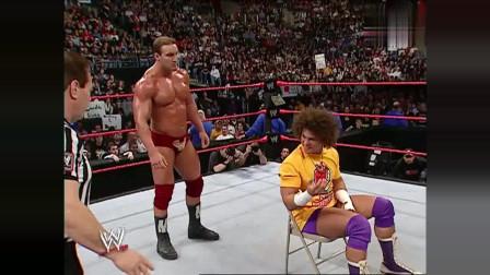 WWE:丹尼尔随手扔掉的苹果,竟为自己招来杀生大祸,得罪不起啊!