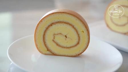 下午茶怎么能没有它呢,简单的瑞士卷蛋糕~~~