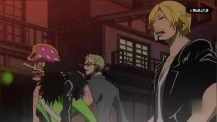 海贼王:看这架势,如果青雉不出手,那么索隆这是要砍火山了呀