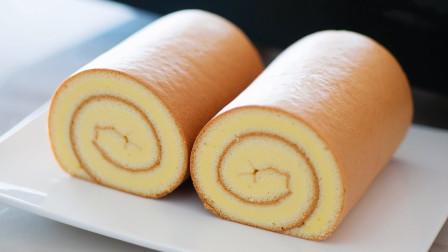 """怎样才能做一个完美的""""瑞士卷""""蛋糕?教程拿走不谢!"""