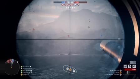 战地1:舰炮用着太爽了,全程撸人头