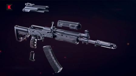 俄军换新枪了,外形酷炫特别能挂,堪称AK47获得新生