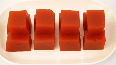 山楂糕超简单的做法很好吃,口感软糯酸酸甜甜,还能健胃消食哟!