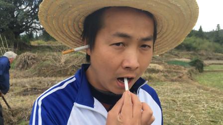 香烟从耳朵插进去,再从嘴巴出来!方法比你想得还简单