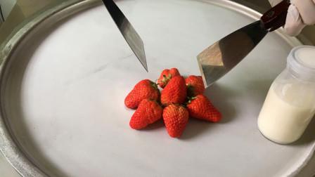 草莓如何制作冰淇淋卷?如何用草莓制作美味可口的冰淇淋卷