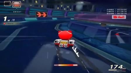 跑跑卡丁车:在当年,会双喷这个技术的都是大神