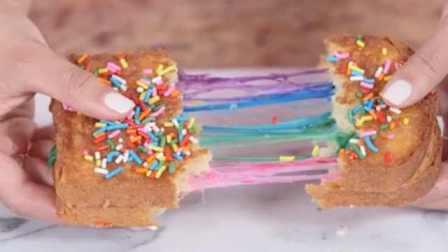 春天的味道!彩虹芝士面包,好吃易学