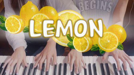 【日剧 UNNATURAL 非自然死亡 主题曲 Lemon 米津玄师】四手连弹 Bella & Lucas