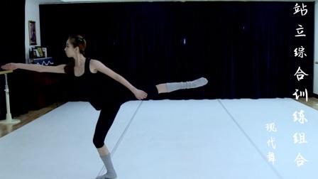 【田培培老师舞蹈工作坊】名师 现代舞基础训练03——地面重心移动组合(韩国 现代舞)