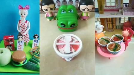 儿童玩具:大鳄鱼来吃果冻了
