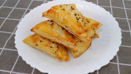 不开酥不揉面也能做香酥苹果派?教你简易做法,吃一次就爱上它!