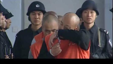警中警:重大罪犯上法庭,排场真大,刑警们排排站,全都怕他越狱