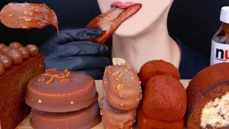 梦龙杏仁巧克力脆皮冰淇淋、花生巧克力脆皮冰淇淋雪砖等