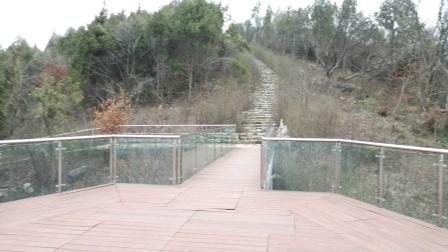 江苏南京汤山方山国家地质公园观景平台