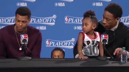 NBA场上叱咤风云的球星,没想到生活中却是孩子奴