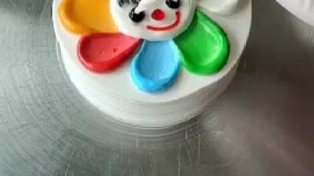 跟我一起学做蛋糕-七彩蛋糕,七种颜色分别代表什么?