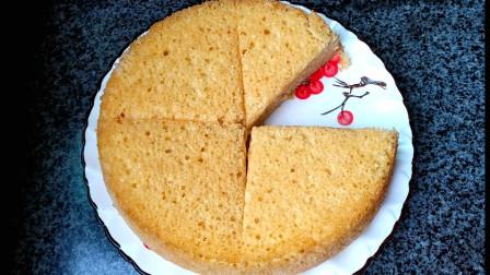 福建大姐不用烤箱不用电饭锅做蛋糕,不加1滴水,蓬松柔软比买的好吃