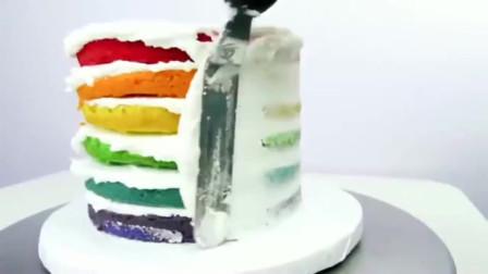 吃货看过来!美味的彩虹蛋糕制作教程
