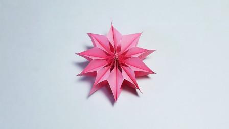 折纸王子大全 简单折纸 教你折纸手工装饰花,三八妇女节手工