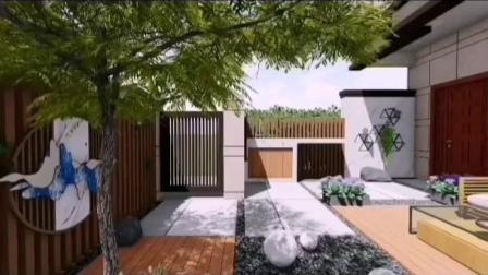 无觅造园:30平轻打理简约风小庭园怎么设计呢?